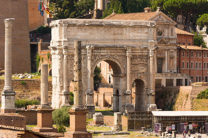 Pisces and Capricorn – Capitoline Hill and Forum Romanum