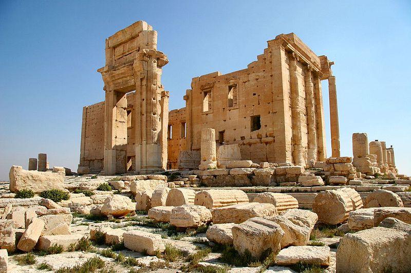 Der Baalstempel von Palmyra
