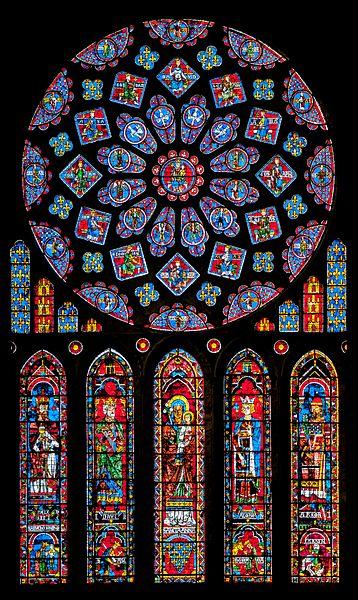 Astrologie und Astrogeographie der Kathedrale von Chartres, Gotik und Frankreichs