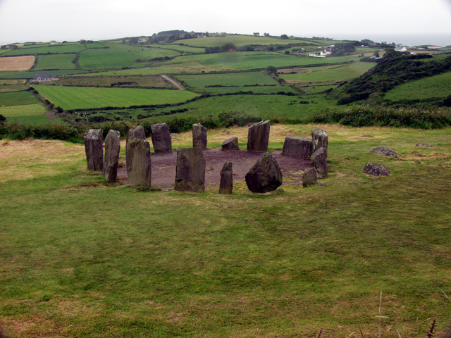 aastrology and astrogeography of Drombeg stone circle