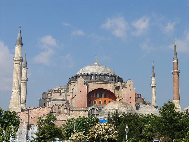 Krebs und Stier – Die Hagia Sophia in Istanbul