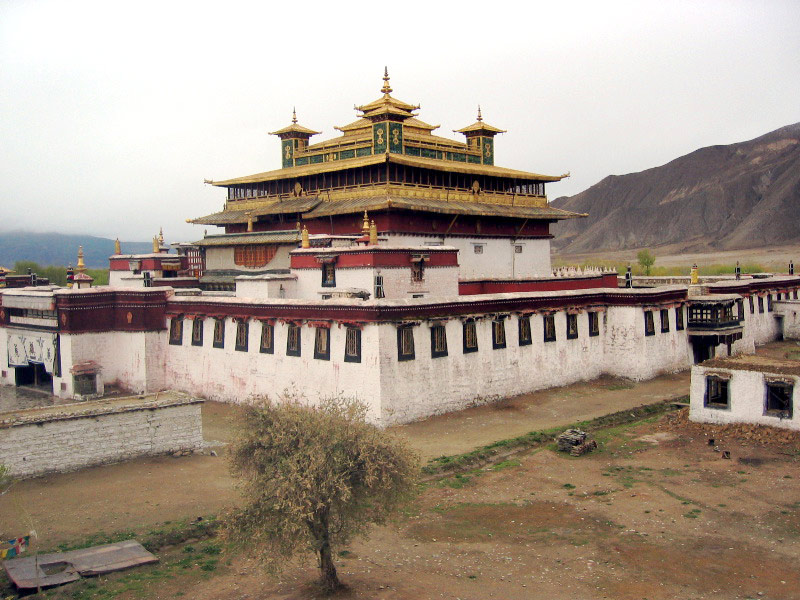 Samye Gompa the oldest monastery in Tibet