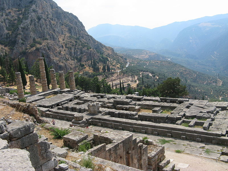 Libra and Aries – The Oracle of Delphi photo: Leonidtsvetkov license:ccsa2.5 photo: Leonidtsvetkov license:ccsa2.5