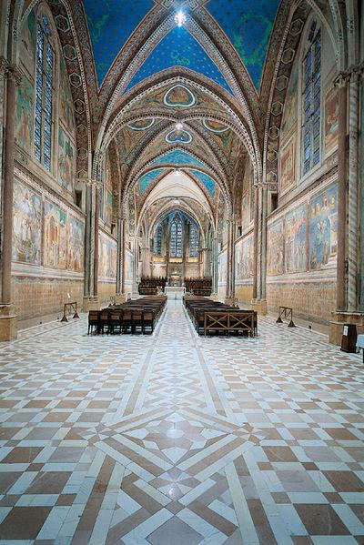 Waage und Jungfrau – Die Grabkirche des Franz von Assissi