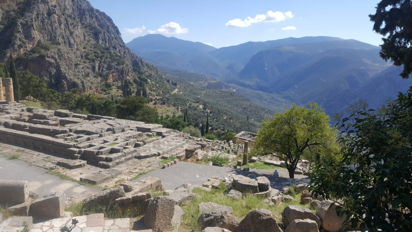 Delphi: Astrologie und Astrogeographie des Orakel Tempels