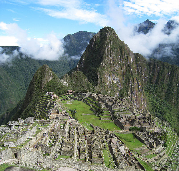 Leo and Capricorn - The Sun Temple of Machu Picchu
