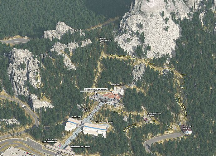 Capricorn and Leo – Mount Rushmore National Memorial