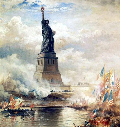 Leo and Scorpio – The Statue of Liberty