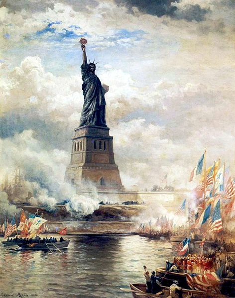 Astrology and Horocope of the Statue of Liberty in new York