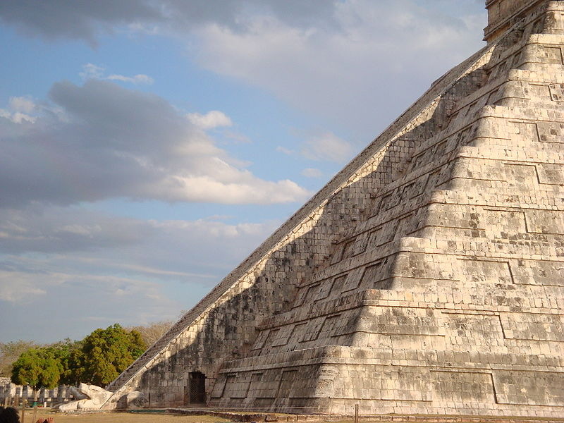 Kukulkan at its finest during the March Equinox. Chichen Itza Equinox March 2009. The famous descent of the snake at the temple. source,