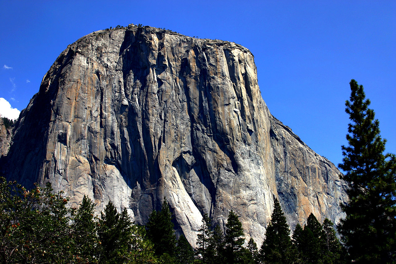 El Capitan in Yosemite National Park in Capricorn photo: Mike Murphy license: GN/FDL