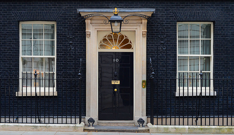 The astrogeographical constellation of 10, Downing Street