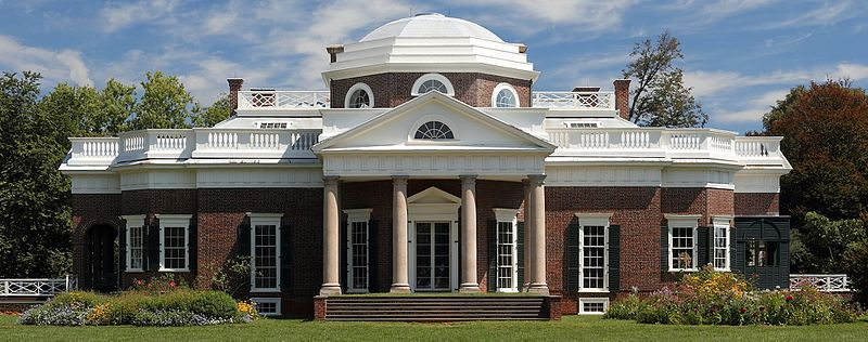 Monticello in astrology and astrogeography
