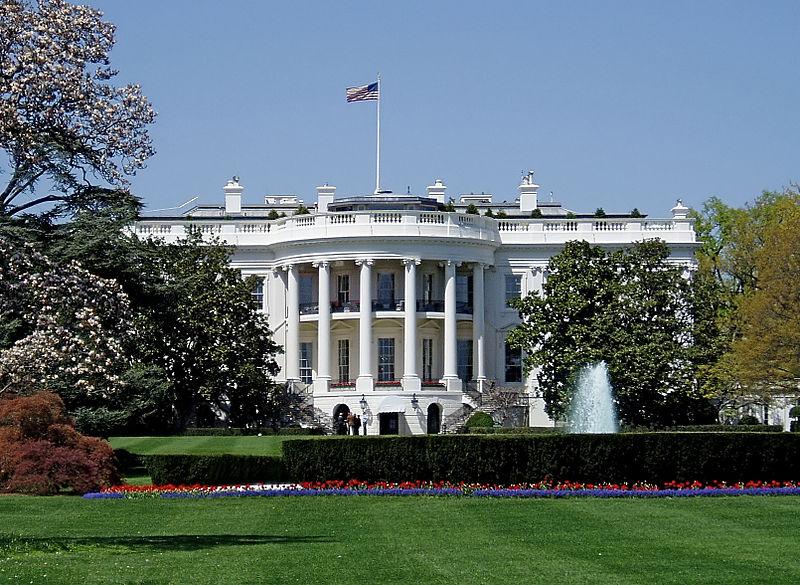 Die astrogeographische Position des Weißen Hauses