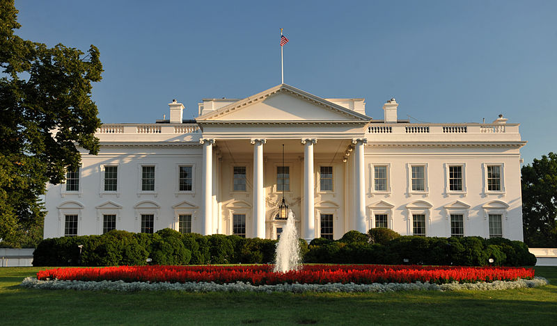 White House north facade located in Libra with Gemini photo: Cezary p, ccbasy4.0