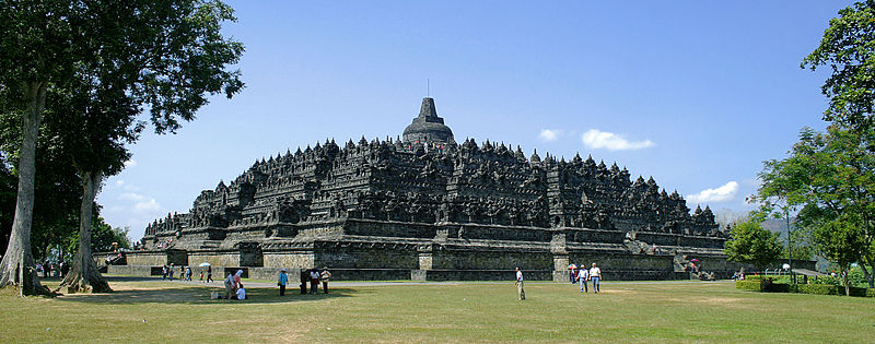 The astrology and astrogeography of the Temple of Borobudur, Indonesia