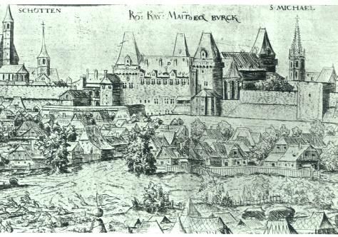 Hofburg_Burg_1558