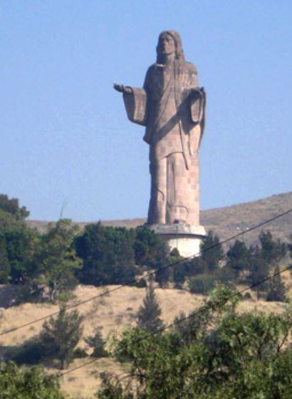 Risen Christ Statue of Tlalnepantla in astrology