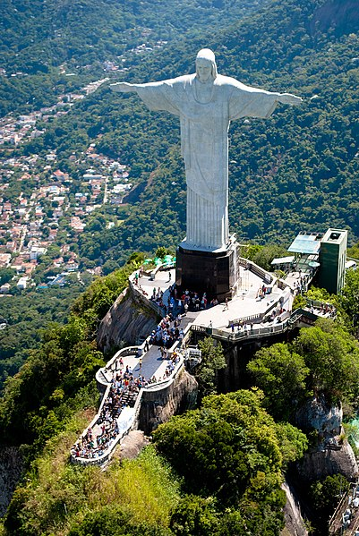 Christ the Redeemer statue in astrology