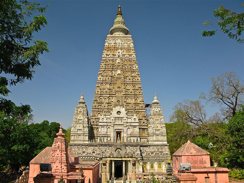 Mahabodhi Temple located in Aries with Libra photo: Ken Wieland, ccbysa2.0