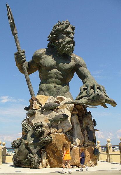 Astrologie, Neptun und Astrogeographie in der Kunst und Bildhauerei