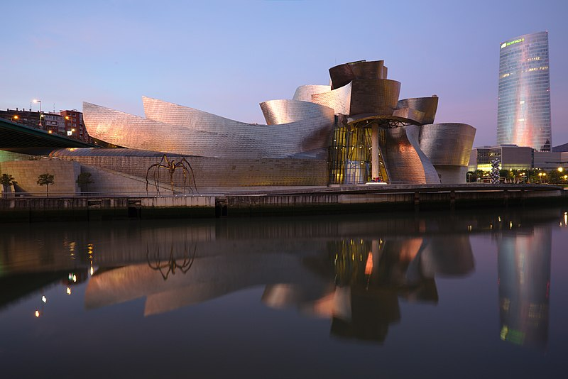 Guggenheim Museum at Bilbao in astrology and astrogeography