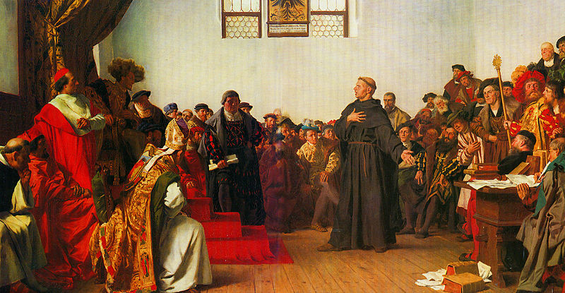 Luther Reichstag zu Worms