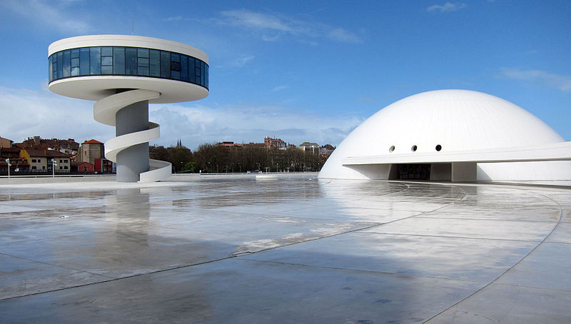 Astrology, astrogeography, architecture of Oscar Niemeyer International centerchitecture