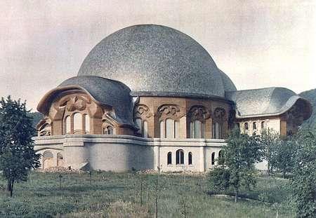 First Goetheanum designed by Rudolf Steiner