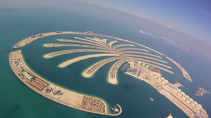 Astrology and architecture of Palm Juneirah Island and Dubai