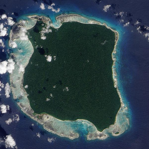 Das isolierte Inselvolk von North Sentinel Island