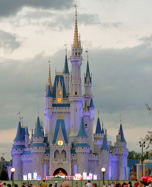 photo: Raul654   license: GNU/FDL Die Astrologie von Cinderella`s Schloss in Disney World