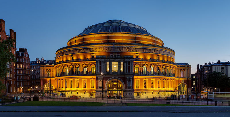 Royal Albert Hall, London in Aries with Scorpio Photo by DAVID ILIFF. License: CC-BY-SA 3.0