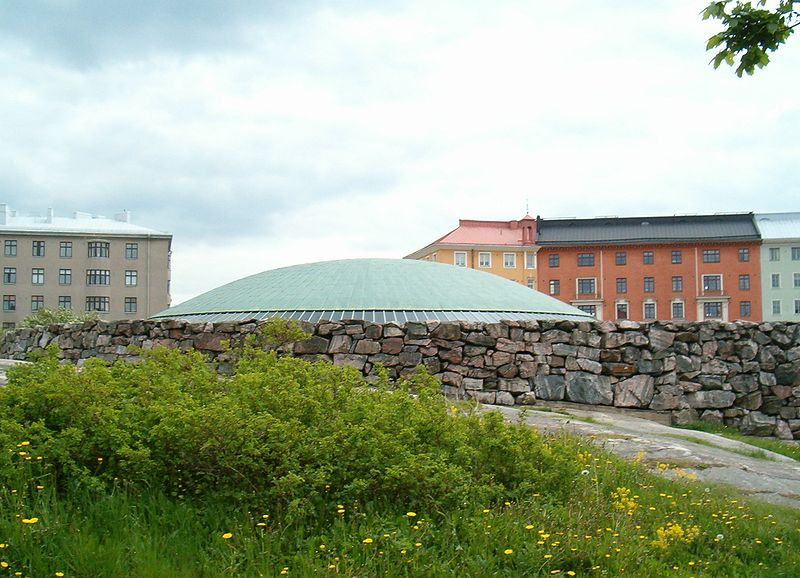 Temppeliaukio Church in helsinki in Aries with SagittariusPhoto: Pertsaboy License: GNU/FDL