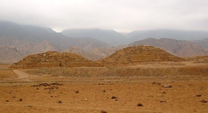 Pyramids of Caral, Peru
