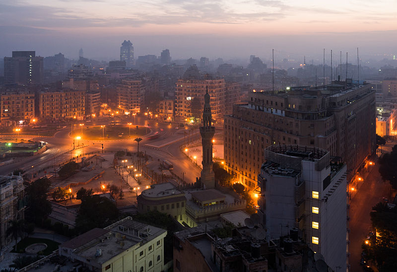 Al-Tahrir Square in Libra with Pisces photo: Frank Schulenburg, ccbysa3.0
