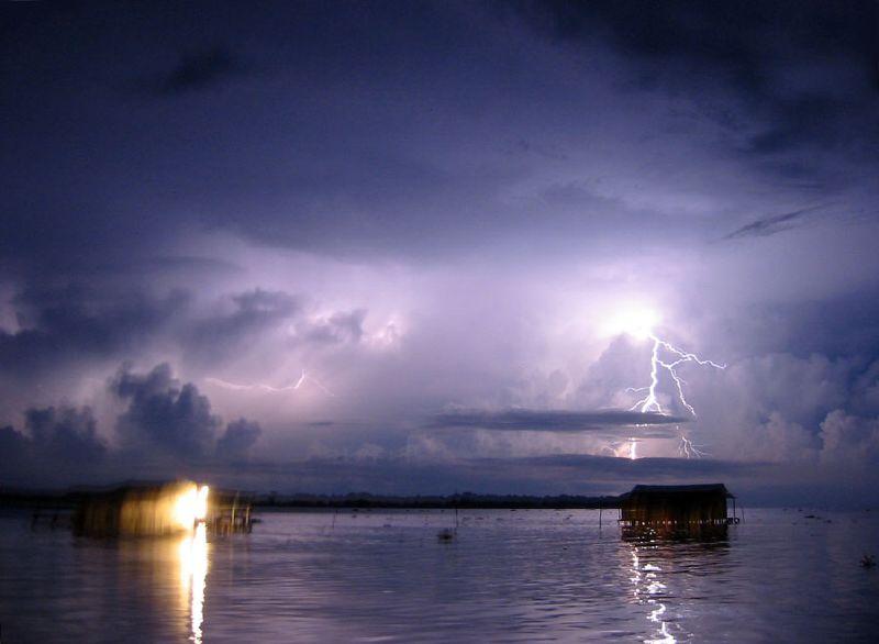 Das Catatumbo Gewitter der größte Ozongenerator der Erde