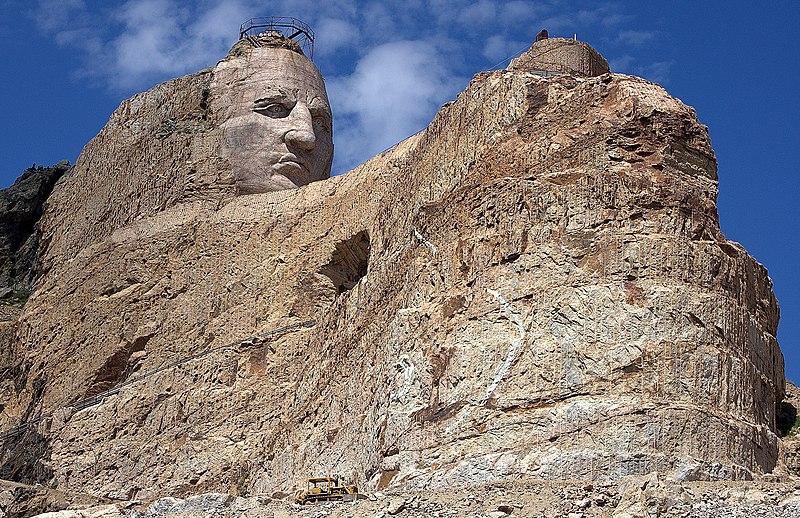 Astrologie und Astrogeographie des Crazy Horse Memorials