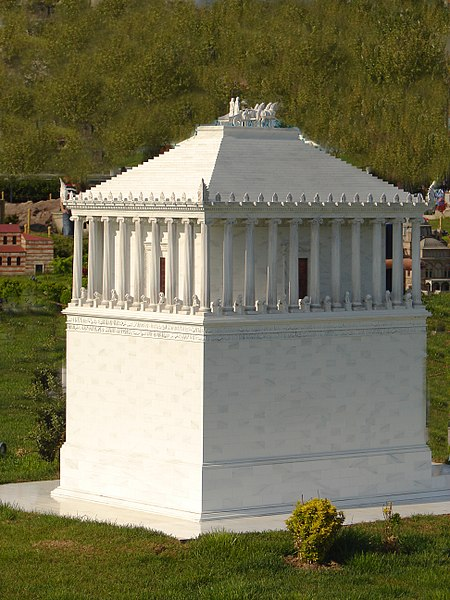 The Mausoleum of Halicarnassus