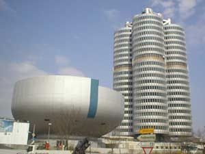 BMW tower in Munich
