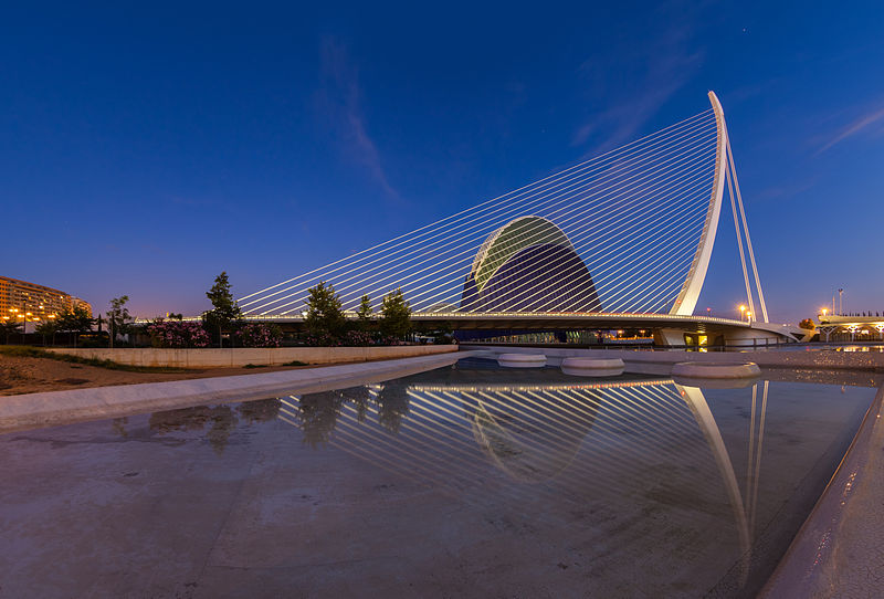Assut de l'Or Bridge Photo: Diego Delso, License CC-BY-SA 3.0
