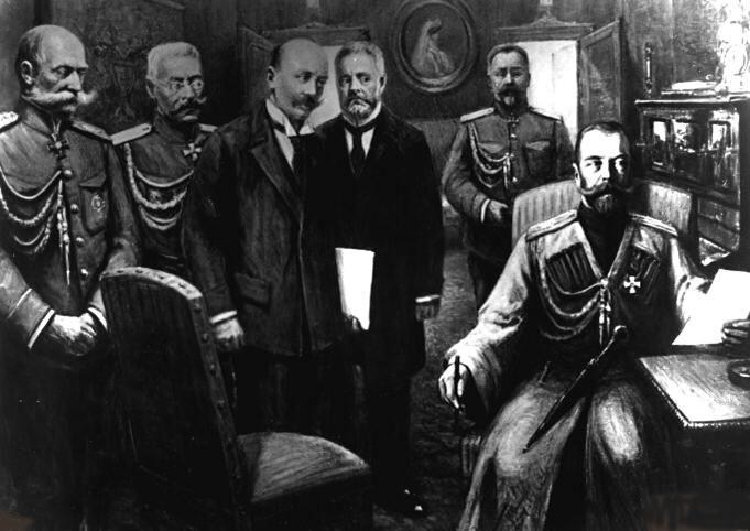 Abdication of Tsar Nicholas II