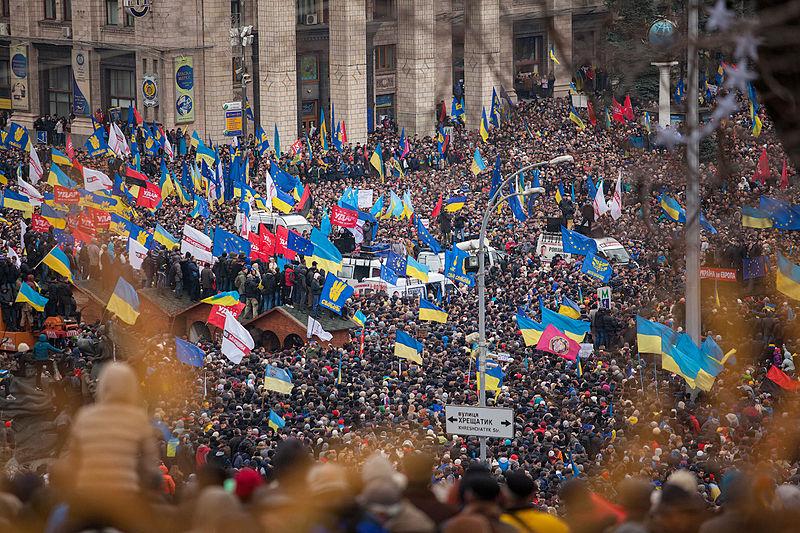 Euromaidan Revolution in Ukrain