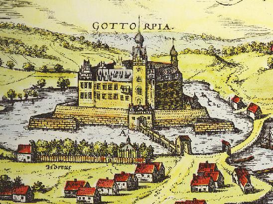 Gottorf Castle and the House of Romanov in astrology