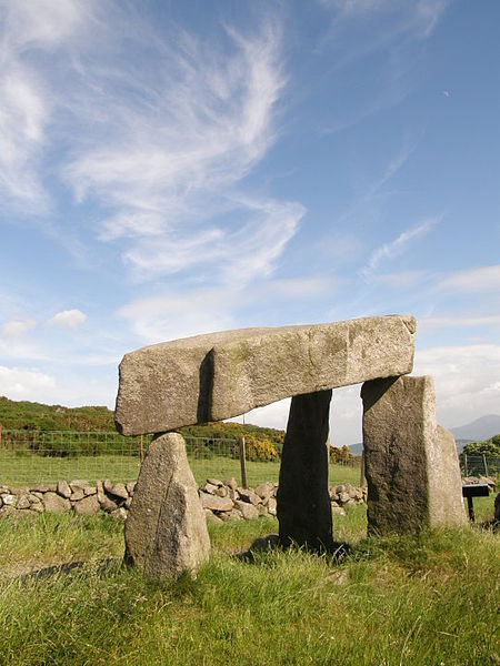 Legannany Dolmen in County Down located in Cancer with Pisces Photo: The Dreaded Lurgi
