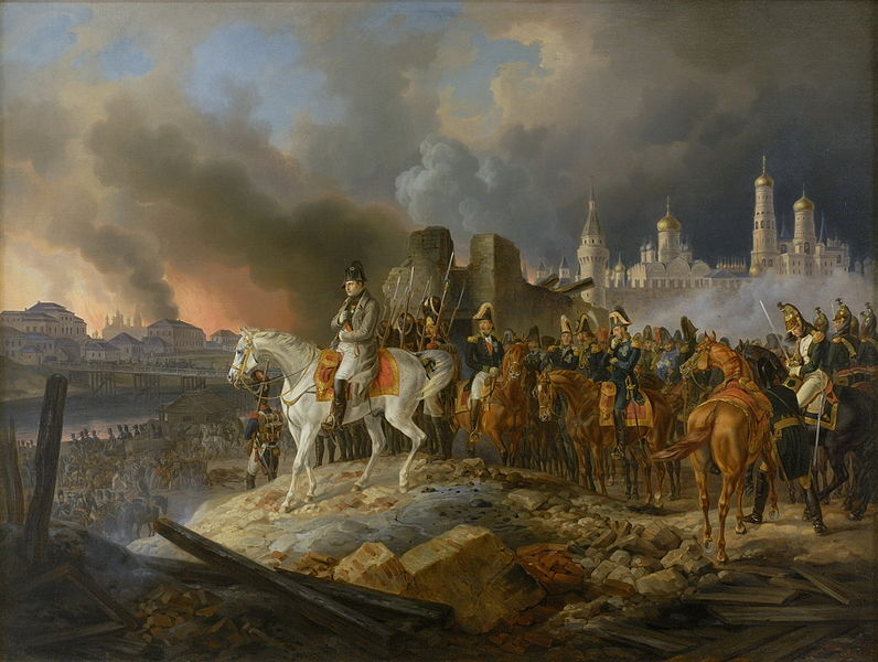 The Fire of Moscow of 1812