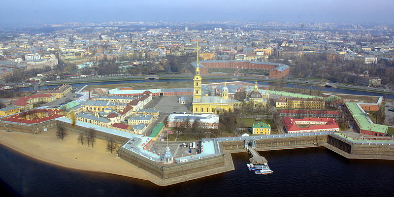 Peter & Paul Fortress in St. Petersburg photo: Иерей Максим Массалитин, ccbysa2.0