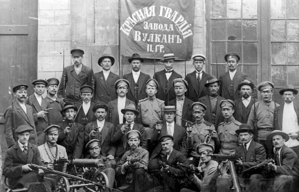 October Revolution in Russia