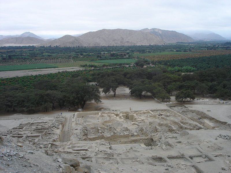 Sechin Bajo Casma Valley Photo: Sylvain2803 License: GNU/FDL