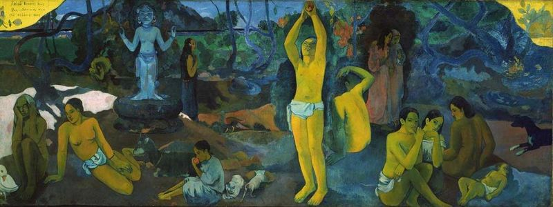 Paul Gauguin Where Do We Come From? What Are We? Where Are We Going?